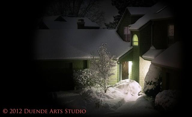 Night Snow Scene 0118